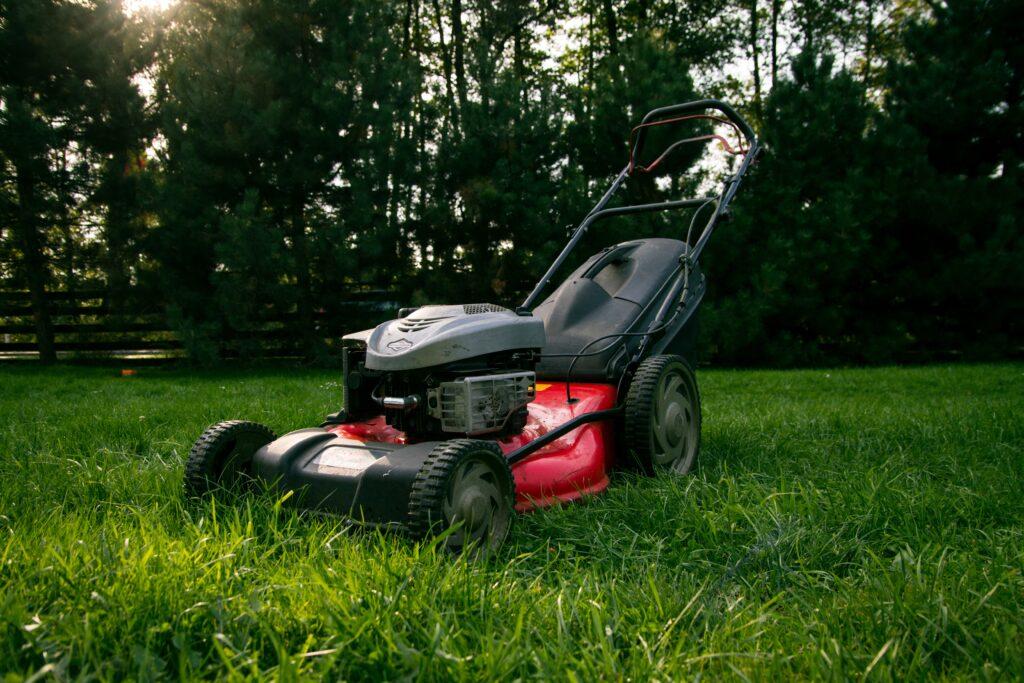 klippa gräsmattan